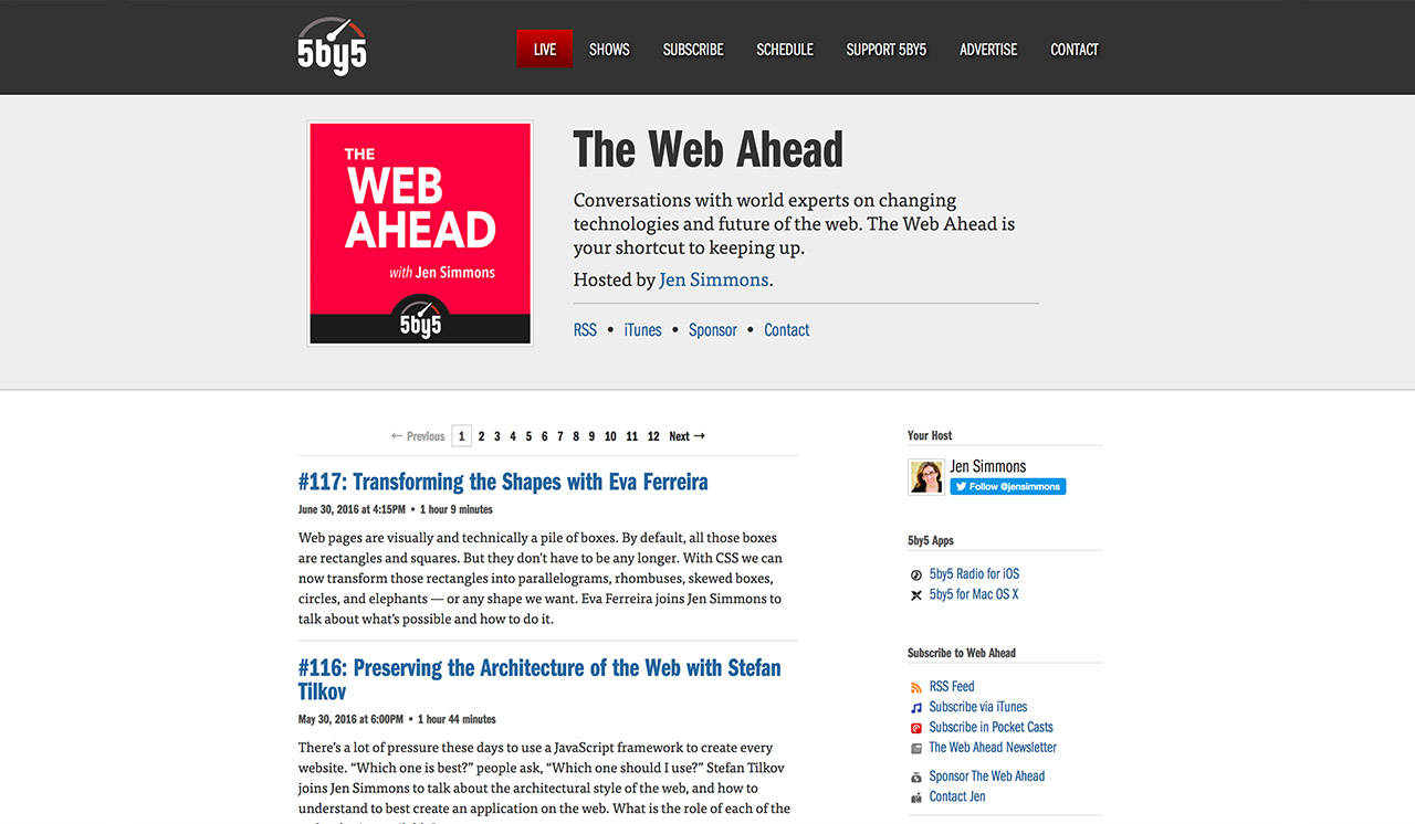 Webahead Web Design Podcast
