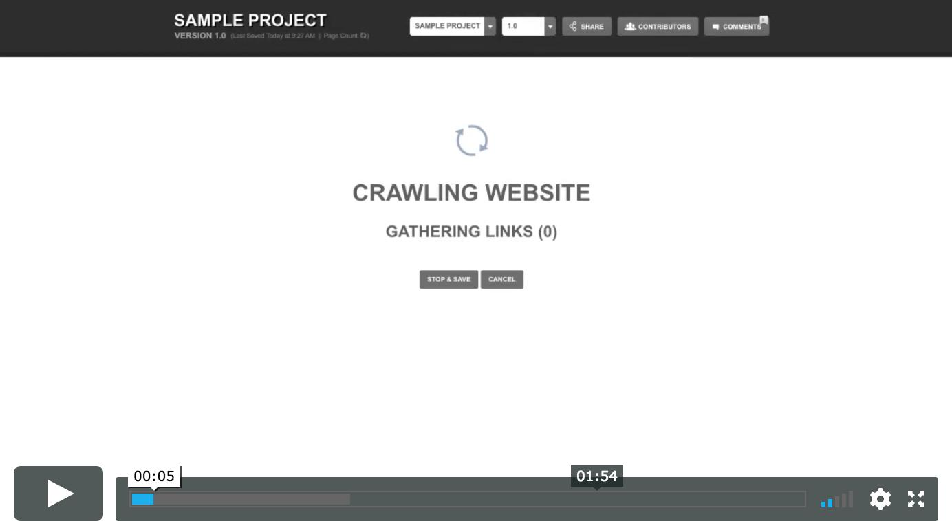 slickplan site crawler