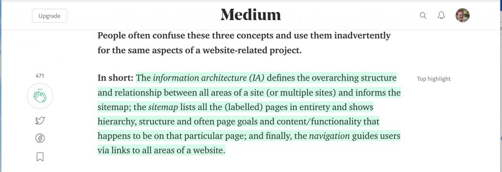 medium definitions