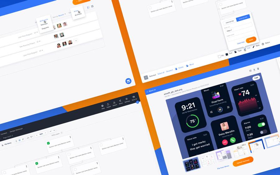 Slickplan 2.0 UI